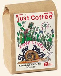 Koffeinfri kaffebønner